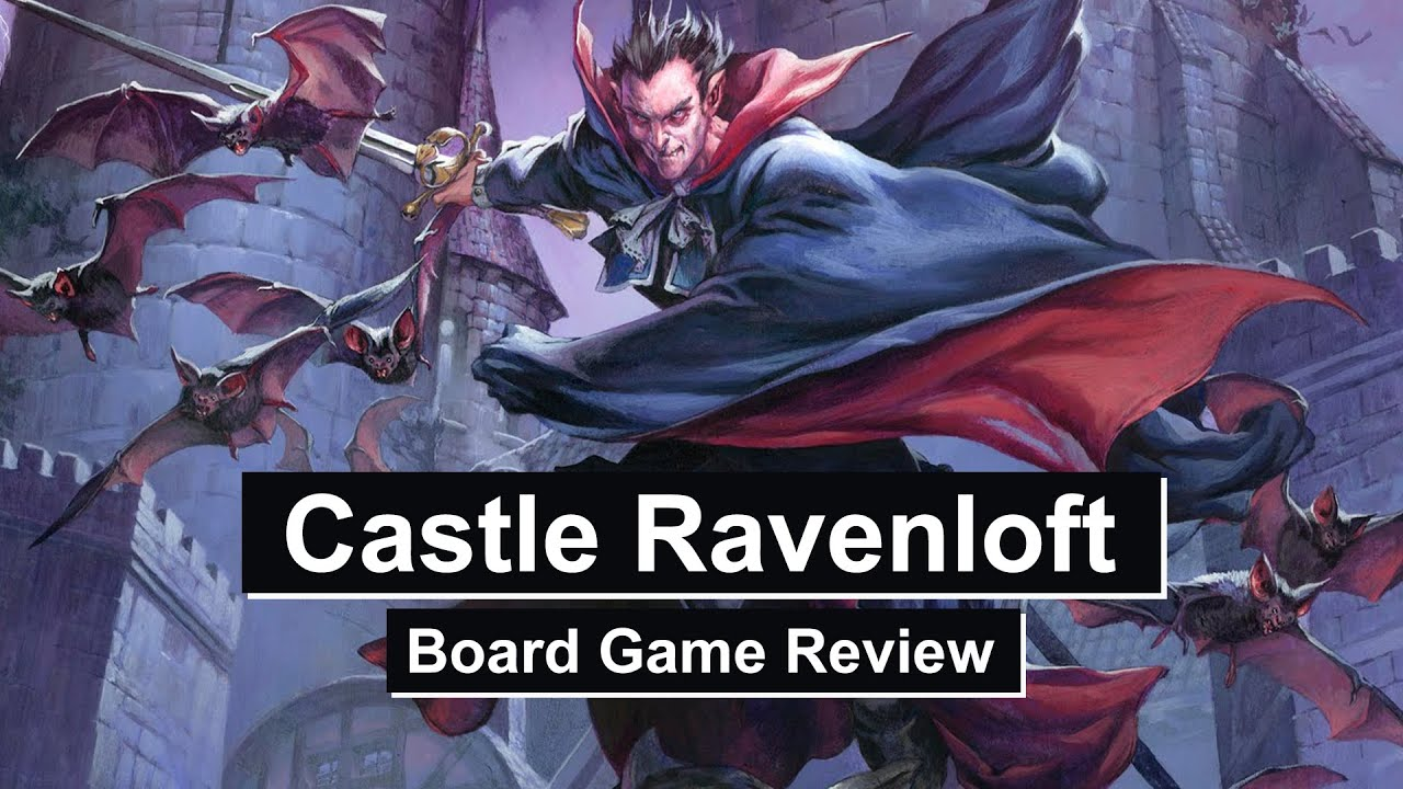 Castle Ravenloft Board Game Review Youtube