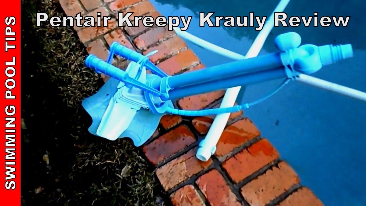 Pentair Kreepy Krauly Pool Cleaner Review - YouTube