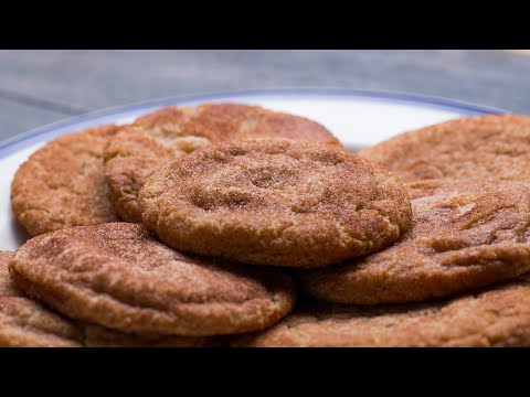 The Best Soft & Chewy Snickerdoodle Cookies