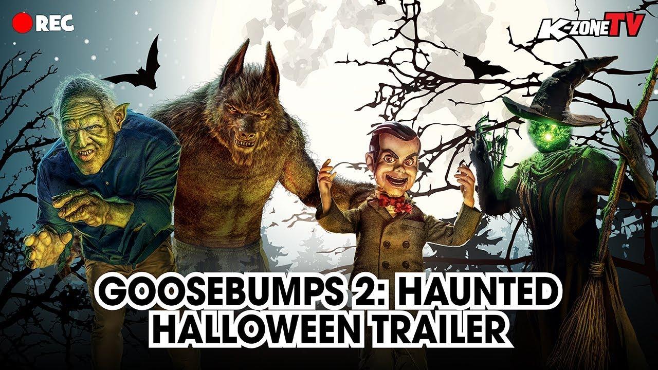 Goosebumps Haunted Halloween Trailer 2020 Goosebumps 2: Haunted Halloween Trailer   YouTube