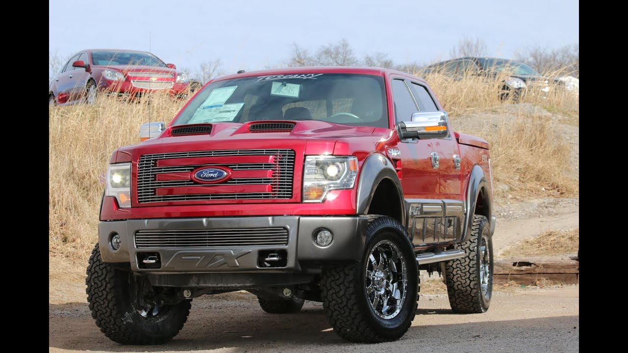 Tuscany Ford F150 >> 2014 F150 FTX by Tuscany Ruby Red - Ford of Mufreesboro - YouTube
