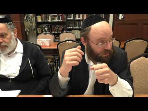Rabbi Yishai Porges - Hagada Shel Pesach: Vehotzianu Hashem Mimtzriam part 2