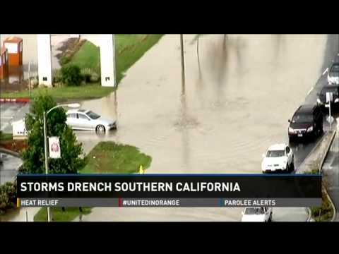 Heavy rains cause flooding in Southern California   9news com 3
