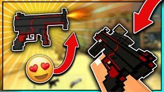 I LOVE THIS GUN!! 😍   Pixel Strike 3D (MP5K Gameplay)