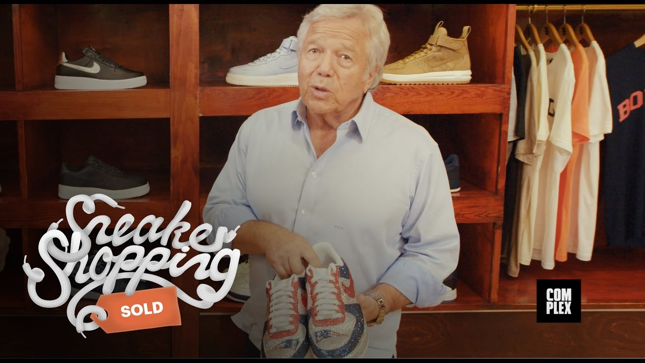 d9451c6981ec Robert Kraft Goes Sneaker Shopping with Complex - YouTube