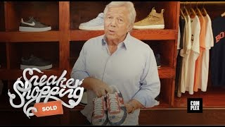 Download Robert Kraft Goes Sneaker Shopping with Complex Mp3 and Videos