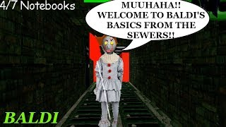 WELCOME TO THE HAUNTED BALDI'S BASICS SCHOOLHOUSE FROM THE SEWERS!!   Baldi's Basics