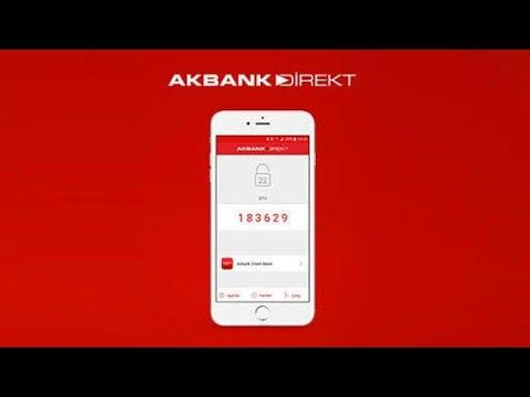 Akbank Direkt Mobil Şifre Alma