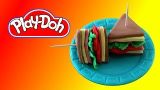 How to make  Ham Sandwich out of Play Doh