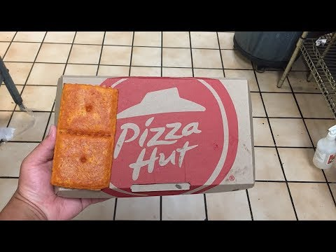 Kristina Kage - Pizza Hut Has Created Stuffed Cheez-It Pizza and the Internet is Freaking