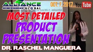 MOST DETAILED Product Presentation - Dr. Raschel