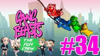 The FGN Crew Plays: Gang Beasts #34 - WWE Moves