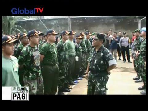 Ormas beratribut TNI, digerebek