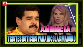 ¡ HACE UNOS MINUTOS ! Mhoni Vidente hizo una T3RRlBL3 PREDlCCl0N sobre Nicolás Maduro.