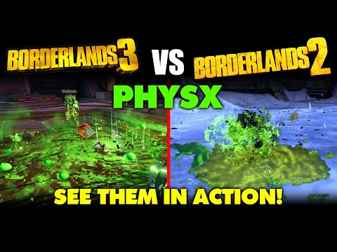 Borderlands 3 VS Borderlands 2 PHYSX Comparison: Which Is Better?