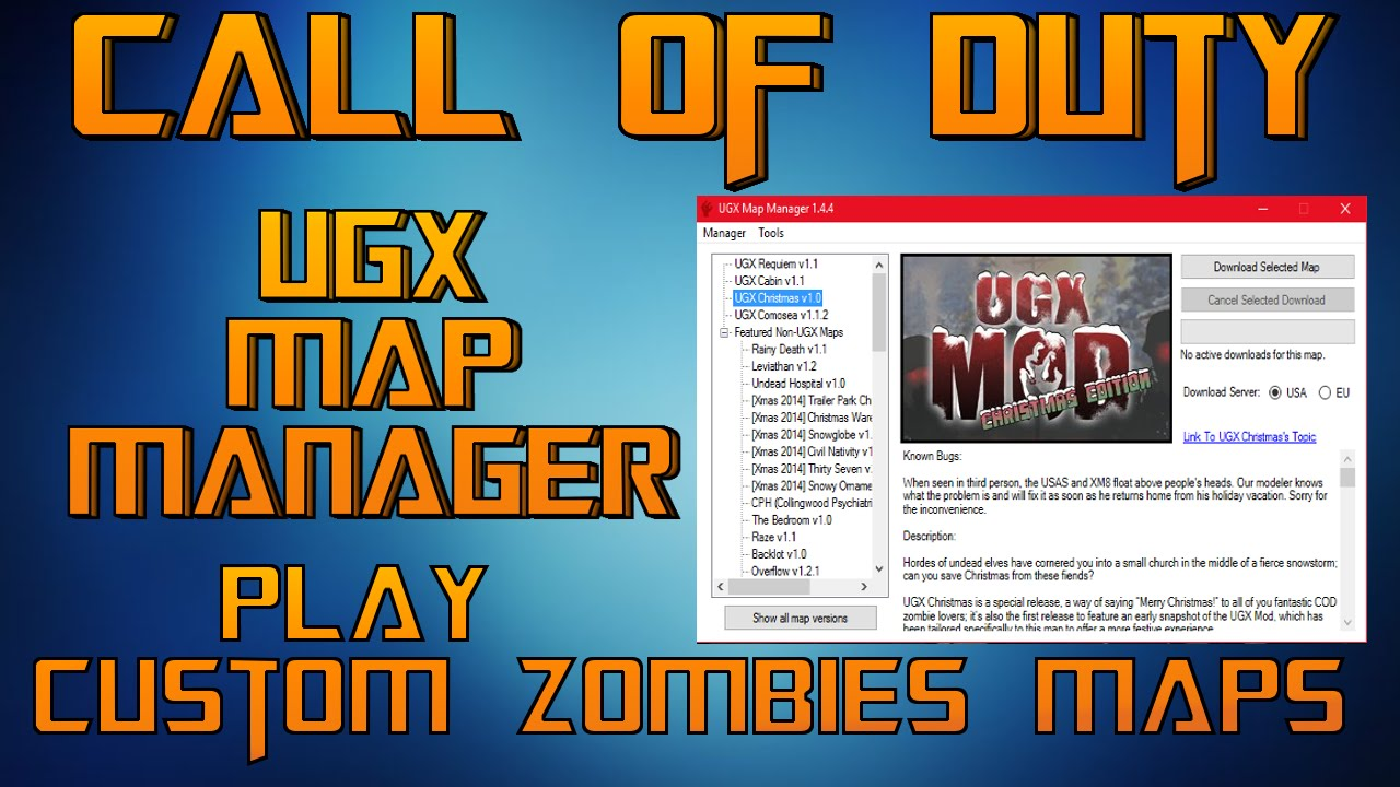 how to download custom zombie maps for world at war - YouTube