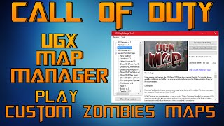 Download How To Download Custom Zombie Maps On Call Of Duty Waw On ...