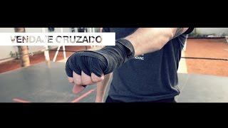 how to wrap hands - Vendaje cruzado (2 de 2)