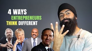 4 Ways Entrepreneurs Have To Think Different