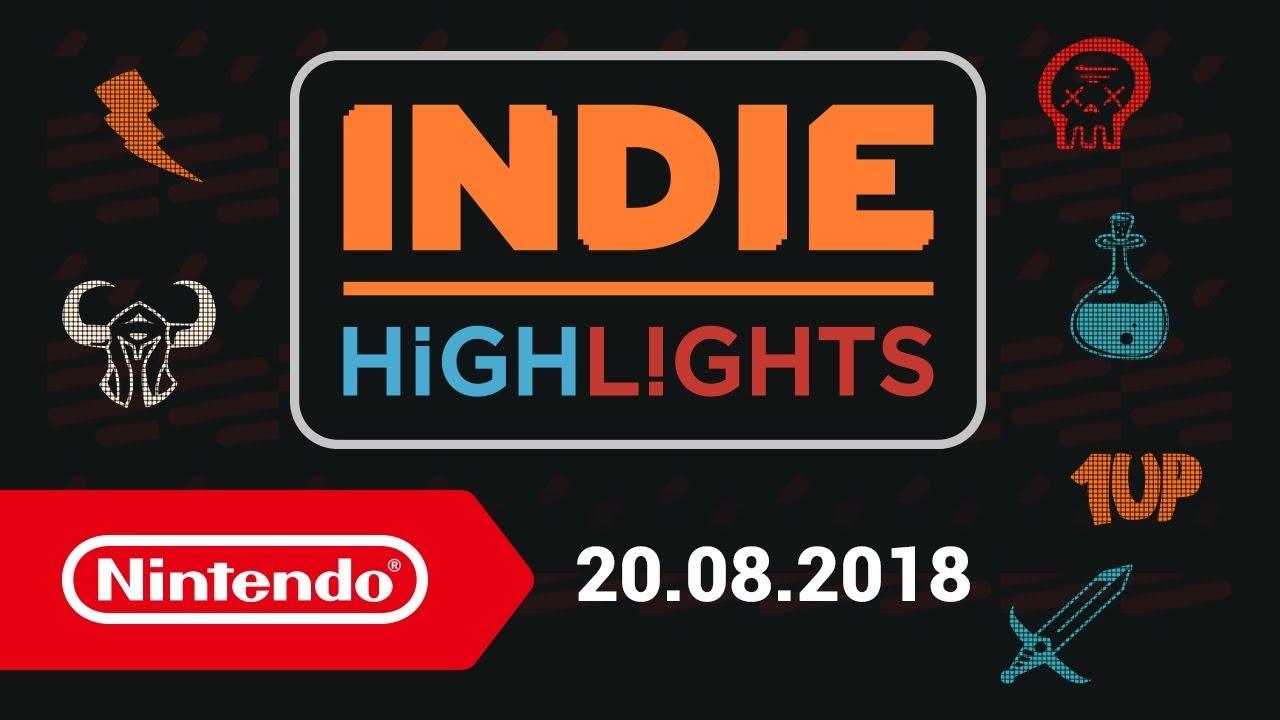 Paris Games Week 2018 - Nintendo jeux indés