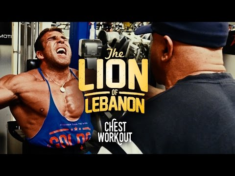 """Chest Workout with Samir Bannout """"The Lion of Lebanon"""""""