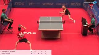 Элизабет Абраамян vs Sophia Klee (GER) | European Youth Championships 2019 (final)