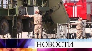Российские ВКС успешно испытали новую модернизированную ракету системы ПРО.