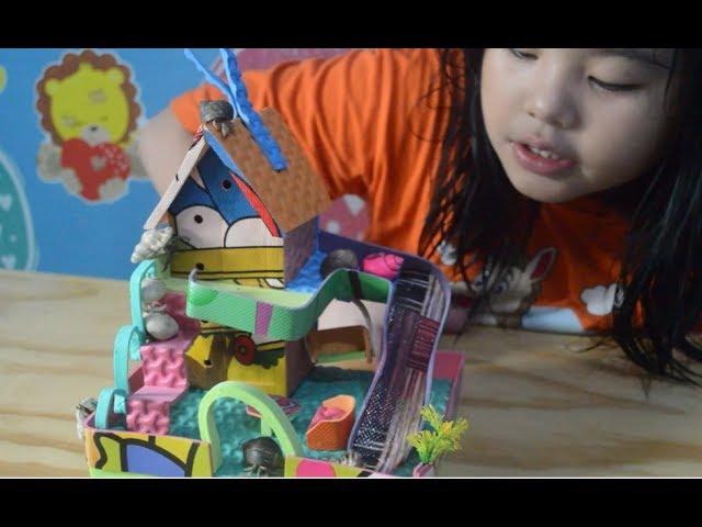 Mainan Anak Keong Lucu Banget Bisa Balapan dan Naik Genteng wkwkwkk