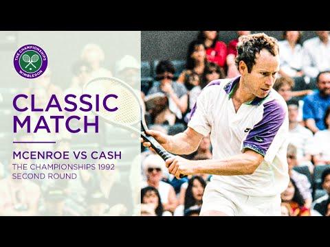 John McEnroe Vs Pat Cash Wimbledon Rd.64