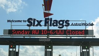 A DAY AT SIX FLAGS ASTROWORLD (ONLY A MEMORY)