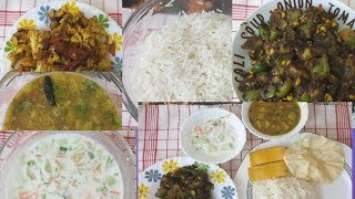 |Satwik Thali|Janmastami simple Lunch|45 mins QUICK lunch preparation|Indian recipes