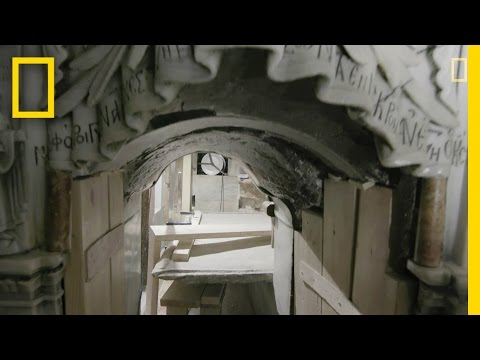 EXCLUSIVE: A Closer Look Inside Christ's Unsealed Tomb | National Geographic