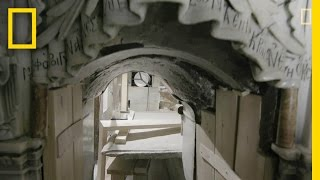 A Closer Look Inside Christ's Unsealed Tomb