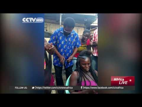Accra Mayor turns hairstylist to win votes