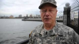 Gen. Frank Grass, chief, National Guard Bureau, visits NJ, NY after Hurricane Sandy