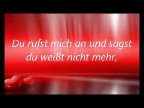 Revolverheld - Halt Dich an mir fest Karaoke (with lyrics)