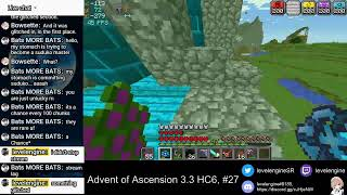 MINECRAFT Livestreams ~ Advent of Ascension 3.3 Hardcore ATTEMPT 6 (#27)