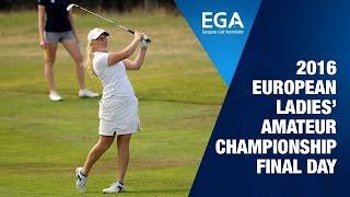 2016 European Ladies' Amateur Championship