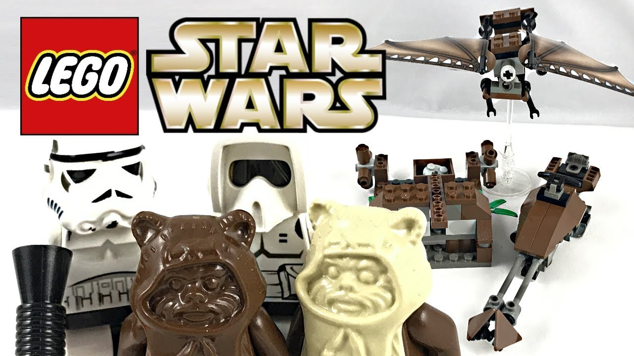 lego ewok attack 7139 instructions
