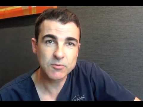 Does LASIK hurt? Dr Adam Watson at Eye Institute
