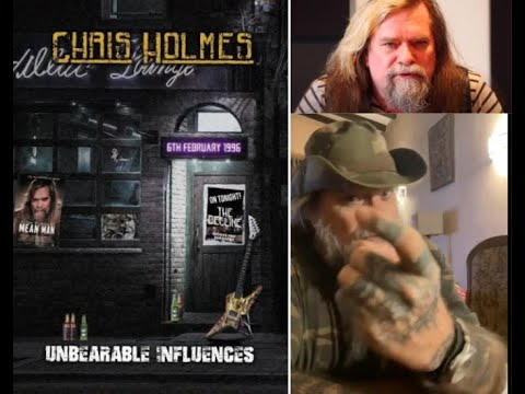 """new solo album from ex-W.A.S.P. guitarist Chris Holmes """"Unbearable Influence"""""""