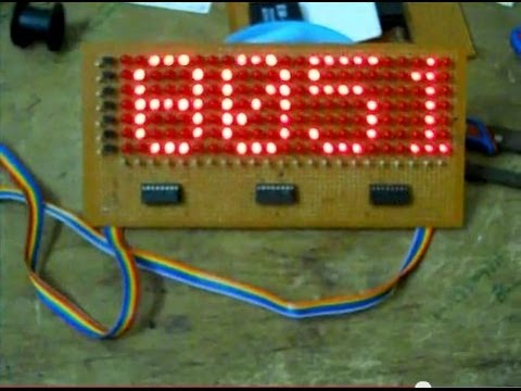 Led scrolling message display using 8051 youtube ccuart Images