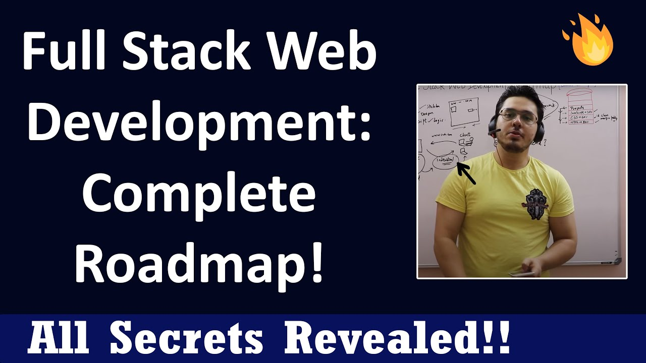 How to Become a Full Stack Web Developer   Complete Roadmap