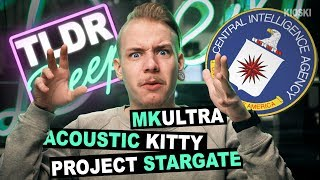CIA:n hulluimmat projektit - TLDRDEEP