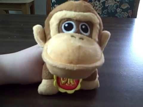 Baby DK - World of Nintendo plush - YouTube
