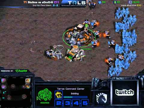 TLS 3rd Place Match - Skzlime vs eOnzErG Game 3