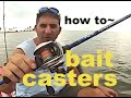 KAYAK FISHING - BAIT CASTERS, how, when, why! STOP BACK LASH how to