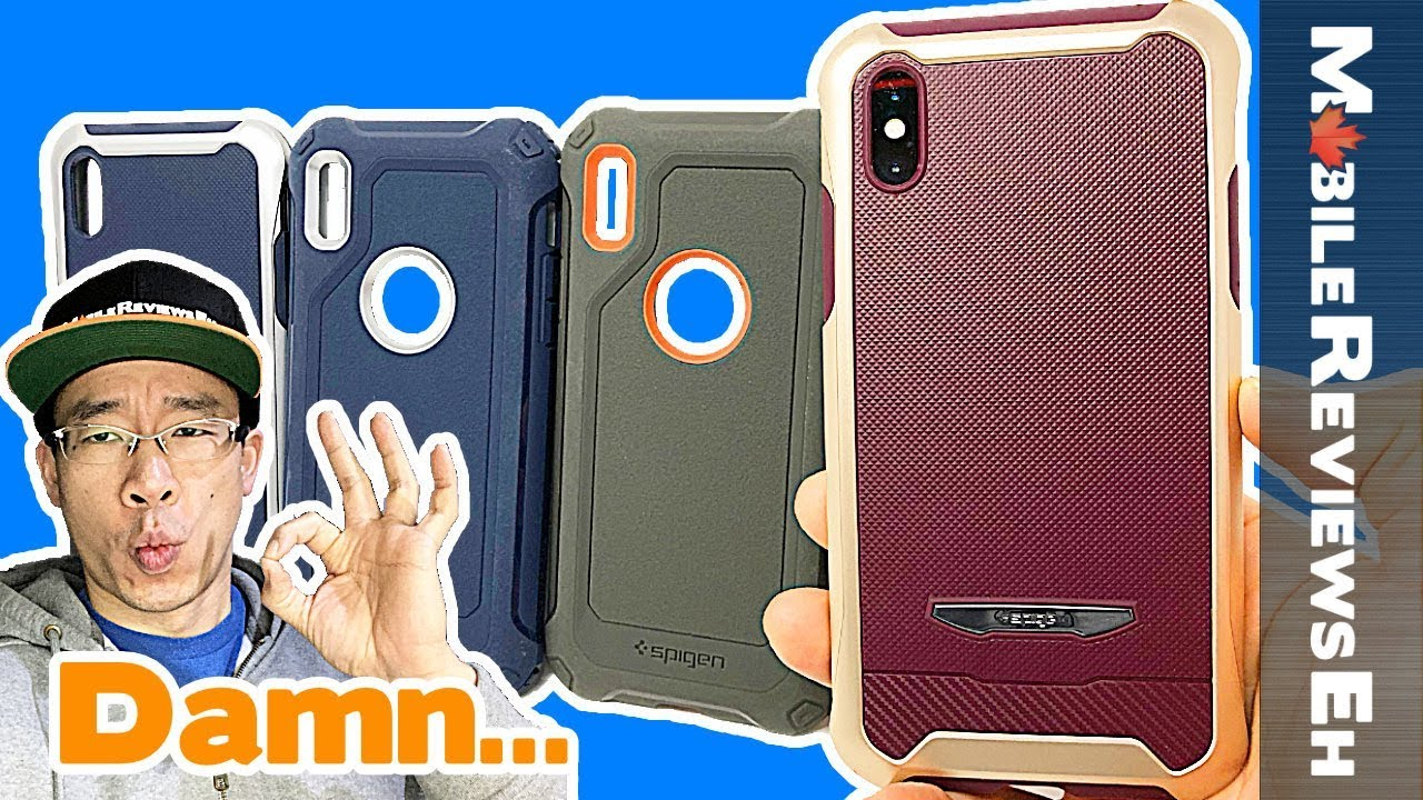 the best attitude a4da0 10b59 Pleasantly SURPRISED by these cases! Spigen Reventon and Spigen Pro Guard -  iPhone X Review
