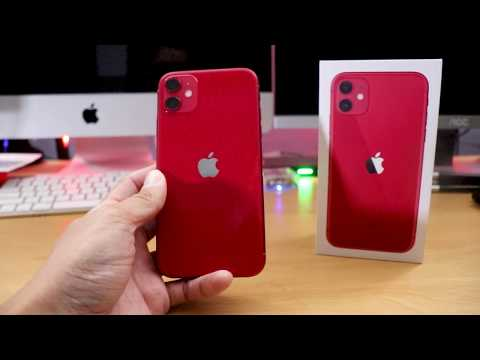iPhone 11 Product Red (Unboxing & First Impressions)