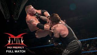 FULL MATCH - Brock Lesnar vs. Undertaker - WWE Title Biker Chain Match: WWE No Mercy 2003